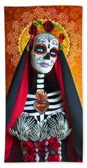 La Muerte Beach Sheet by Tammy Wetzel