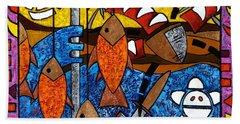 La Pesca Virgen De Un Hombre Honrado Beach Sheet