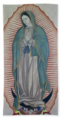La Virgen De Guadalupe Beach Sheet