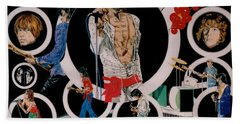Ladies And Gentlemen - The Rolling Stones Beach Towel