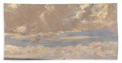 Lady Astor Playing Golf At North Berwick Beach Towel by Sir John Lavery