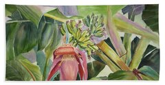 Lady Fingers - Banana Tree Beach Towel