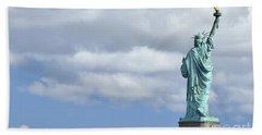 Lady Liberty   1 Beach Sheet