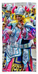 Lady Viking Mummer Beach Sheet