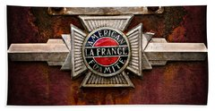 Lafrance Badge Beach Towel