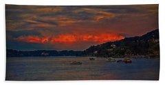 Lago Maggiore Beach Towel by Hanny Heim