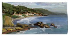 Laguna Beach Beach Sheet by Alice Leggett