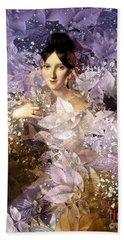 Laila - Des Femmes Et Des Fleurs Beach Towel
