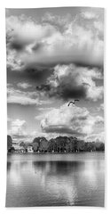 Beach Towel featuring the photograph Lake De Soto by Howard Salmon