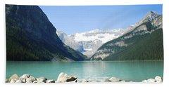 Lake Louise Alberta Canada Beach Sheet