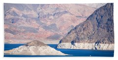 Beach Towel featuring the photograph Lake Mead National Recreation Area by John Schneider