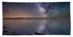 Lake Oahe Beach Towel