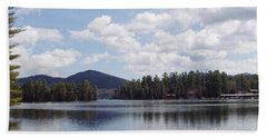 Lake Placid Beach Sheet by John Telfer