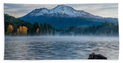 Lake Siskiyou Morning Beach Towel
