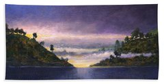 Lake Sunrise Beach Towel