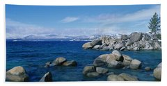 Lake Tahoe Ca Beach Towel