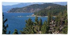 Lake Tahoe Nevada Beach Towel