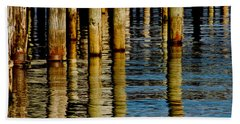 Lake Tahoe Reflection Beach Towel