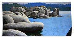 Lake Tahoe Rocky Cove Beach Towel