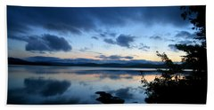 Lake Umbagog Sunset Blues No. 2 Beach Sheet