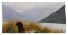 Lake Wakatipu Bench Beach Towel
