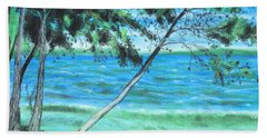 Lakeland 3 Beach Towel by Jeanne Fischer
