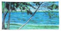 Lakeland 3 Beach Sheet by Jeanne Fischer