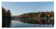 Lakeside Cottage Living - Peaceful Morning Mirror Beach Towel