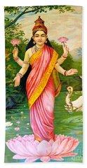 Lakshmi Beach Sheet by Pg Reproductions