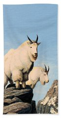 Lamoille Goats Beach Towel