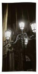 Lamp Light St Mark's Square Beach Sheet