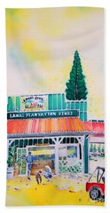 Lanai City Beach Towel