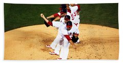 Lance Lynn Pitches Beach Towel