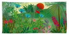 Land Of Flowers - Limited Edition 2 Of 15 Beach Towel