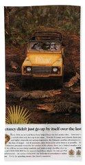 Land Rover Defender 90 Ad Beach Towel