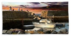 Lanes Cove Gloucester Beach Towel
