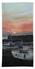 Lanes Cove Sunset Beach Towel