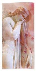 L'angelo Celeste Beach Towel by Micki Findlay