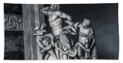 Laocoon And His Sons Beach Sheet