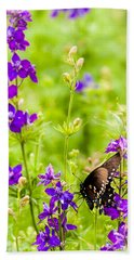 Larkspur Visitor Beach Towel