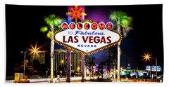 Las Vegas Sign Beach Sheet