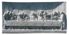 Beach Towel featuring the photograph Last Supper by Greg Patzer