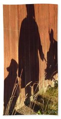 Beach Towel featuring the photograph Late Summer Walk by Martin Howard
