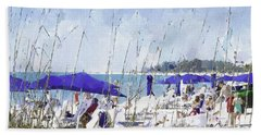 Late Winter Early Spring When Everybody Goes To Florida Beach Towel