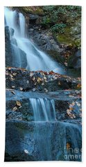 Beach Sheet featuring the photograph Laurel Falls by Patrick Shupert