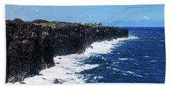 Lava Shore Beach Towel