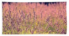 Beach Sheet featuring the photograph Lavender Dreams by Lynn Sprowl