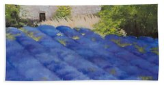Lavender Fields Beach Towel