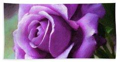 Lavender Lady Beach Towel