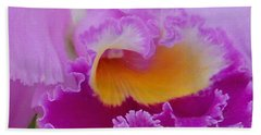 Beach Towel featuring the photograph Lavender Orchid by Aimee L Maher Photography and Art Visit ALMGallerydotcom